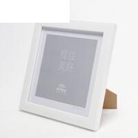 正方形相框�[�_��ρb裱��框7寸照片8 10 12寸十字�C�b裱��意相框