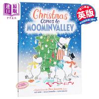 【中商原版】Cecilia Davidsson:姆明谷圣诞夜 Christmas 儿童故事书 绘本故事书 真善美 7~