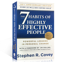高效能人士的七个习惯 The 7 Habits of Highly Effective People 英文原版 成功/