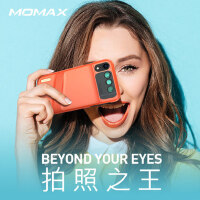 包邮支持礼品卡 Momax 摩米士 iPhone XR 拍照手机壳 iphonexr 双摄 镜头 广角 180°鱼眼