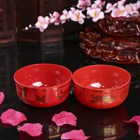 婚庆用品 婚庆结婚纸杯 一次性加厚纸杯纸碗筷子 红色纸杯SN6778