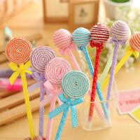 KBX001创意 唯美文具 可爱棒棒糖笔 礼品笔圆珠笔 学生奖品 5根1组 颜色随机