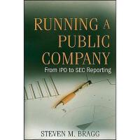 【预订】Running A Public Company: From Ipo To Sec Reporting
