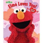 【预订】Elmo Loves You!: The Pop-Up