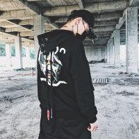新款连帽卫衣男韩版潮学生宽松帅气欧美街头街舞嘻哈男士