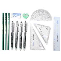 优美嘉文具 学习组合高考中高考考试笔套装2B铅笔考试笔 6件/套 公务员考试
