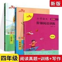 2019新版阅读与写话阅读真题80篇阶梯阅读四年级上下册全套阅读写作真题训练 小学4年级语文同步课外