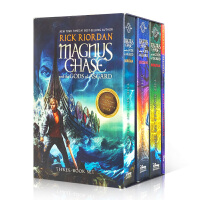 【全店300减100】马格纳斯与仙宫之神Magnus Chase and the Gods of Asgard 3册盒装