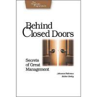 【预订】Behind Closed Doors: Secrets of Great Management