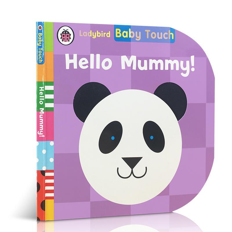 英文原版 Baby Touch: Hello, Mummy!宝宝触摸书:你好,妈妈!儿童启蒙纸板书触摸书感官认知启蒙亲子趣味绘本母亲节礼物Ladybird