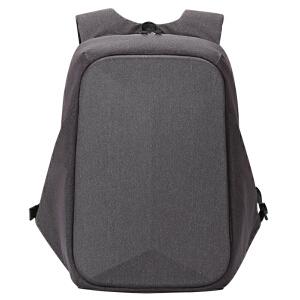 卡拉羊双肩包男士多功能防盗背包 商务电脑包上班旅行休闲包CS5889