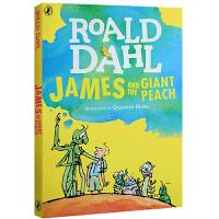 【全店300减100】英文原版 罗尔德达尔Roald Dahl James and the Giant Peach詹姆斯