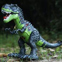 遥控霸王龙大号会走路的玩具男孩恐龙玩具儿童电动仿真动物模型