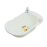 婴儿不可折叠浴盆宝宝洗澡盆儿童新生儿便携可坐躺小号加厚沐浴桶B31