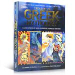 顺丰发货 美国国家地理经典神话系列 Treasury of Greek Mythology 希腊神话宝库:众神、女神、
