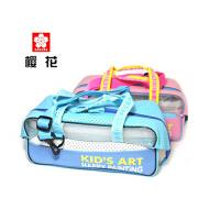 日本原装进口SAKURA樱花儿童水彩颜料套装 水彩工具画包 绘画套装