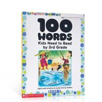 英文原版进口 美国小学3年级 学生100个应掌握单词 100 Words Kids Need To Read By 3