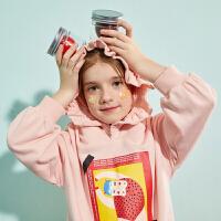 【春新品2件4折:150】巴拉巴拉旗下巴帝巴帝女童长袖套装儿童泡泡袖2020春装新款运动服洋气女