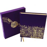 预售 哈利波特与魔法石 金边豪华精装版 Harry Potter and the Philosopher's Stone