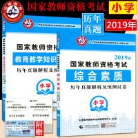 2019山香 国家教师资格考试用书辅导 教育教学知识与能力+综合素质 试卷历年真题解析及预测试卷小学全套2本 小学教师