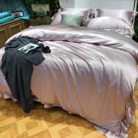 实拍欧式棉婵丝贡缎提花四件套全棉套件床上用品婚庆4件套