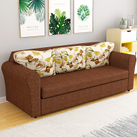 欧式布艺沙发客厅整装沙发组合套装简约单人双人沙发可拆洗免安装