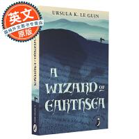 地海巫师 英文原版 英文版 A Wizard of Earthsea 厄休拉 勒古恩 奇幻经典巨作 波士顿全球号角书奖