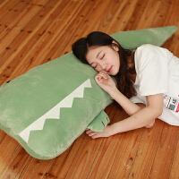 鳄鱼毛绒玩具公仔可爱小玩偶超萌娃娃儿童睡觉大号陪你睡抱枕女孩