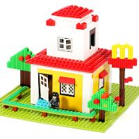 儿童小颗粒积木拼装玩具智力6-7-8-10岁男孩子智力开发塑料拼插4