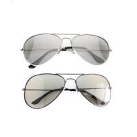 电影院3D眼镜不闪式reald影院专用4D立体眼睛偏光三D电视金属加厚