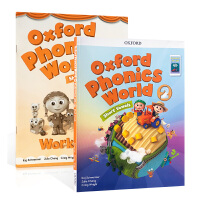 英文原版绘本练习册Oxford Phonics World 2: Student Book with App.新版 2
