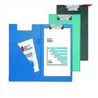 齐心 TR19直条纹双折板夹 A4板夹 写字夹 资料夹 文件夹