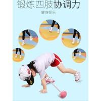 跳跳球大人用儿童闪光跳单脚溜溜球健身球甩甩球套脚环夜光旋转圈