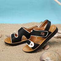 巴布豆男童鞋 男童凉鞋2016夏季新款沙滩凉鞋中大童儿童凉鞋