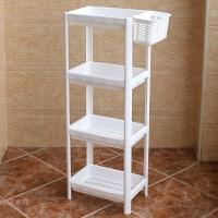 塑料置物架放置物收纳简约置地式落地厕所多层卫生间冲凉房收纳架