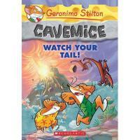 英文原版 老鼠记者02:看看你的尾巴!Geronimo Stilton Cavemice #2: Watch Your