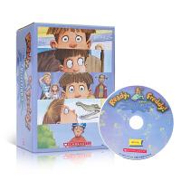 顺丰发货 英文原版 Ready, Freddy! Collection 1 弗雷迪系列故事合集10册套装附CD Sch