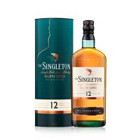 宝树行 苏格登12年700mL 苏格兰单一麦芽威士忌 原装进口洋酒