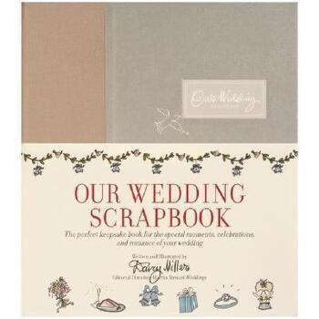 【预订】Our Wedding Scrapbook 美国库房发货,通常付款后3-5周到货!