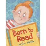 【预订】Born to Read Y9780375846878