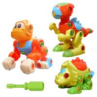 童益智拆装玩具可拆卸组装宝宝螺丝动手猩猩恐龙