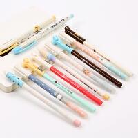 晨光(M&G)小学生可擦笔 热可擦中性笔 易擦水笔0.5黑/晶蓝/墨蓝学生文具写字笔
