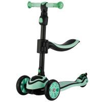 三合一滑板车儿童2岁宝宝滑滑车男女孩可坐3-6-9岁