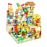 儿童大颗粒积木拼装宝宝玩具43-6女孩1-2男孩7-8-10周岁智力