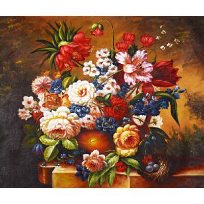 Y071郑美明古典花卉