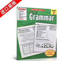 英文原版Scholastic Success with Grammar, Grade 2年级语法