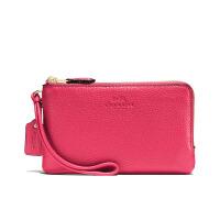 【当当自营】蔻驰(COACH)新款时尚女士手腕包零钱包女  F66505