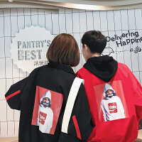 新款秋季学生情侣外套时尚韩版夹克潮流情侣装宽松外套