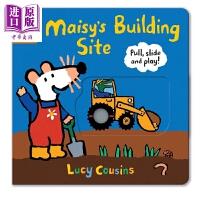 【中商原版】小鼠波波系列 Maisy's Building Site: Pull, Slide and Play 小鼠波