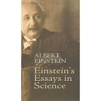 【预订】Einstein's Essays in Science